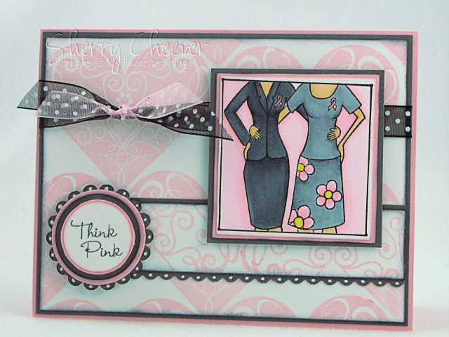 Think Pink Auction Card