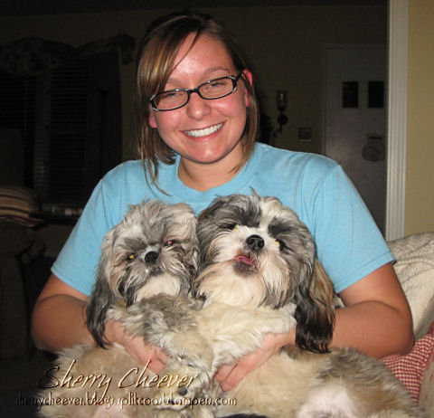 Mallory and pups