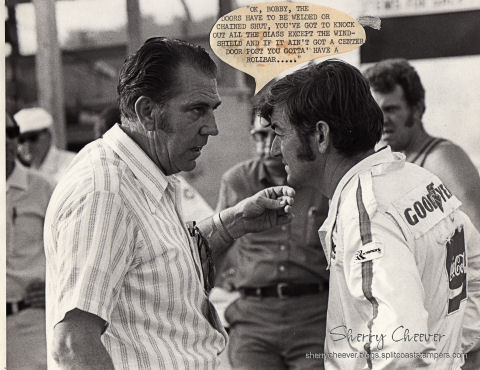 Dad and Bobby Allison