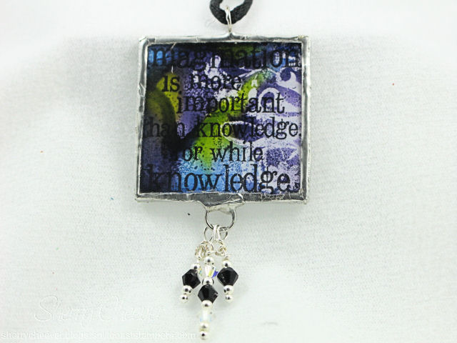 Alcohol Resist Soldered Necklace