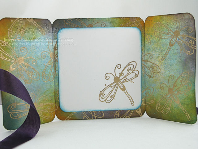 Dragonfly trifold inside