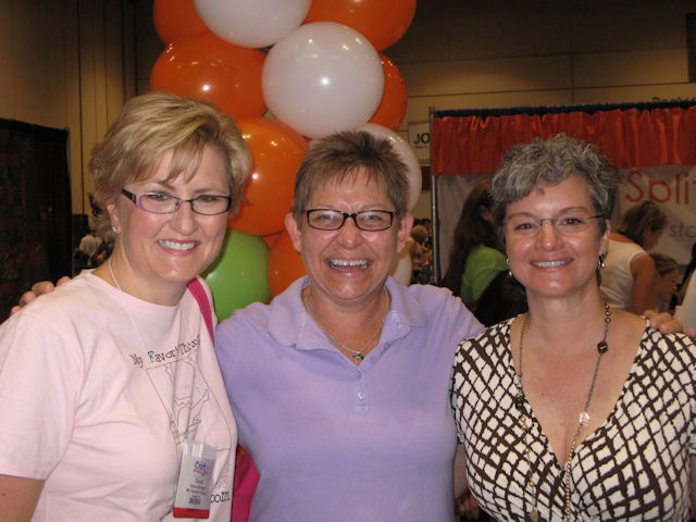 with carol and deb