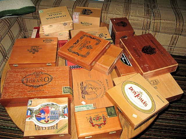 cigarboxes