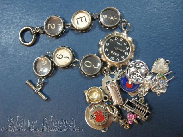 watch and charms