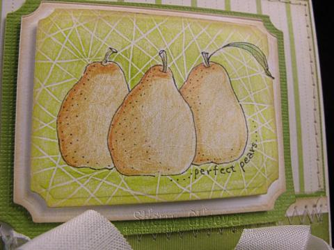 Closeup of Pears