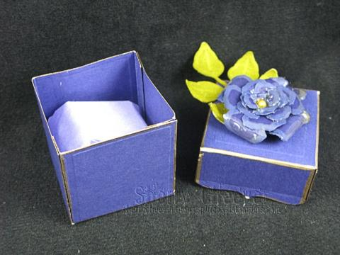 Sorority Gift Box Open
